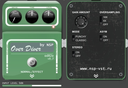 Over Diver od82o plugin vst gratuit